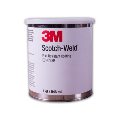 EC776SR - Transparent Red Adhesive Coating from 3M by